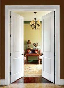lesena vrata