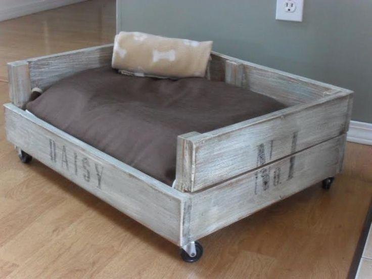 Tekstilno ležišče za psa, ki ga je zelo preprosto očistiti