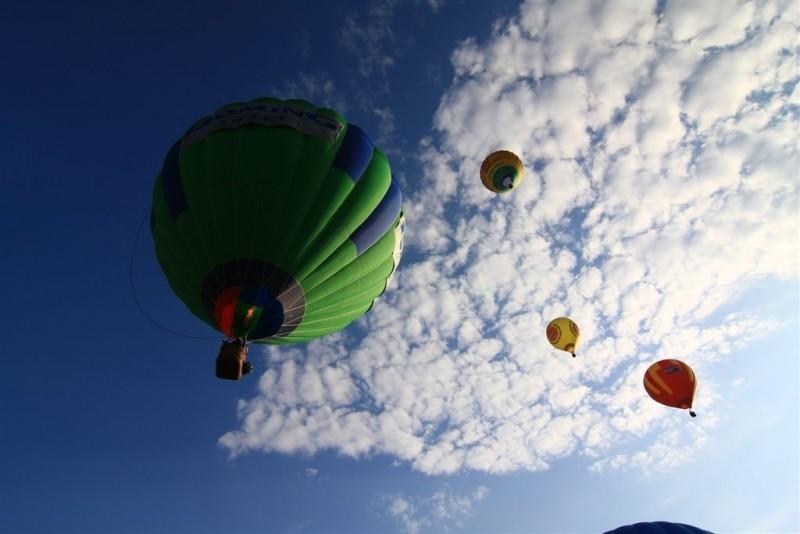 Polet z balonom nudi edinstven pogled