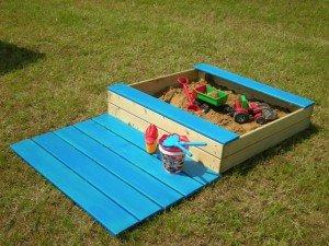 Peskovniki za otroke so lahko zelo različnih oblik