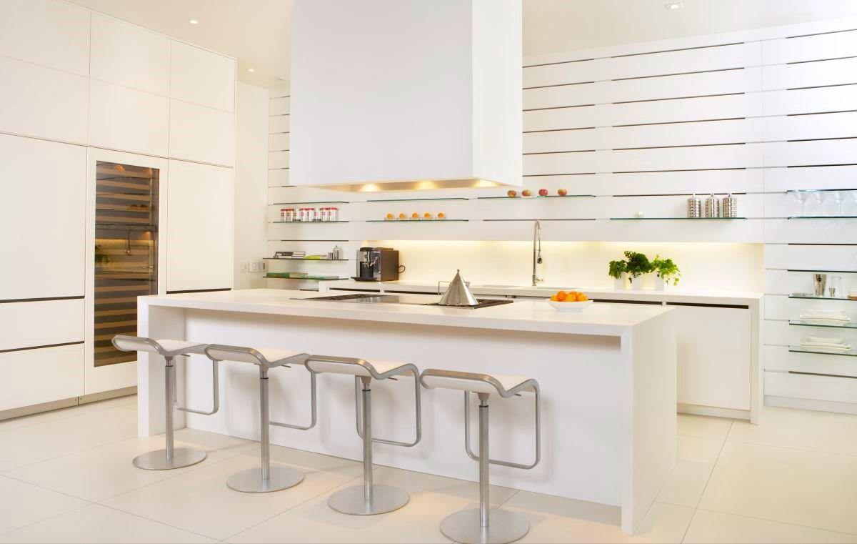Za bele kuhinje ima Kuhnca prav posebne dizajne