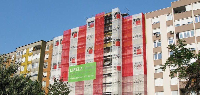 Izdelava fasade mora biti v pravilnem postopku