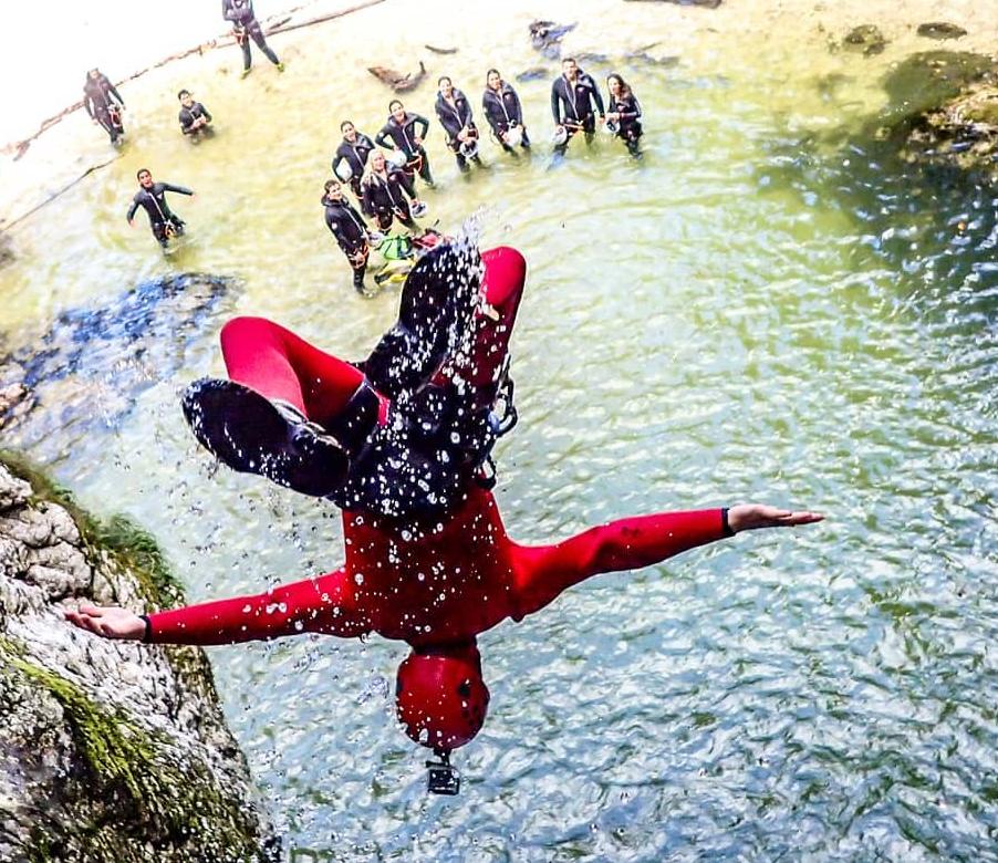 Canyoning Soča z Altitude activities najboljši
