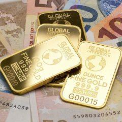 Za odkup zlata se cena spreminja dnevno