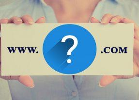 Kako izbrati ime domene za novo spletno stran?